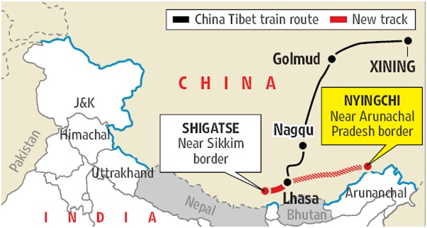 Fig3 China Tibet Train Route