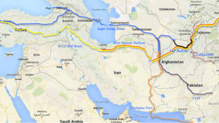 Analysis: Five Nations Railway Corridor Project: Increasing Connectivity and Chinese dominance in Afghanistan