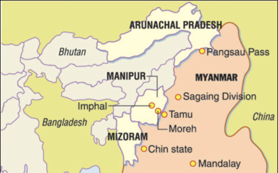 Myanmar-India-Northeast-Assam-Manipur-Sagaing-Map-Facebook